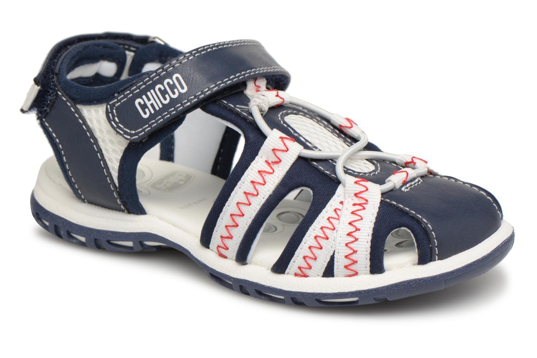 Sandalen Chicco Calimero blau detaillierte ansicht/modell