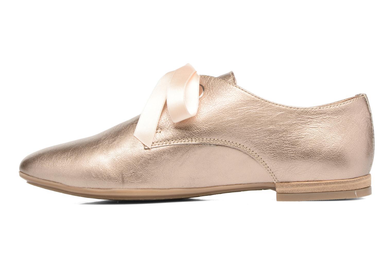 Chaussures à lacets Georgia Rose Astral Or et bronze vue face