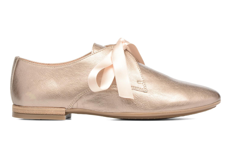 Chaussures à lacets Georgia Rose Astral Or et bronze vue derrière