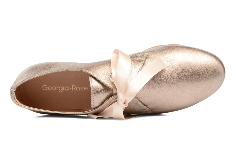 Chaussures à lacets Georgia Rose Astral Or et bronze vue gauche