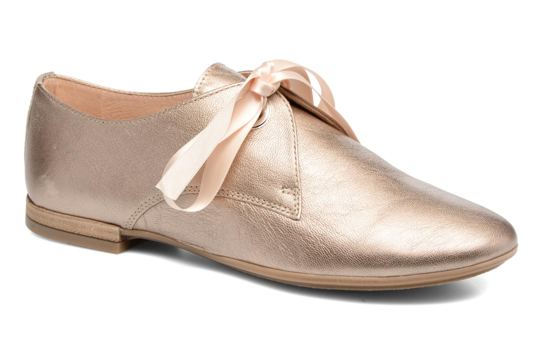 Chaussures à lacets Georgia Rose Astral Or et bronze vue détail/paire
