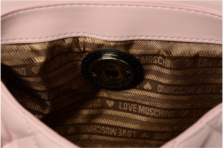 Sacs à main Love Moschino Crossbody Super Quilted Rose vue derrière