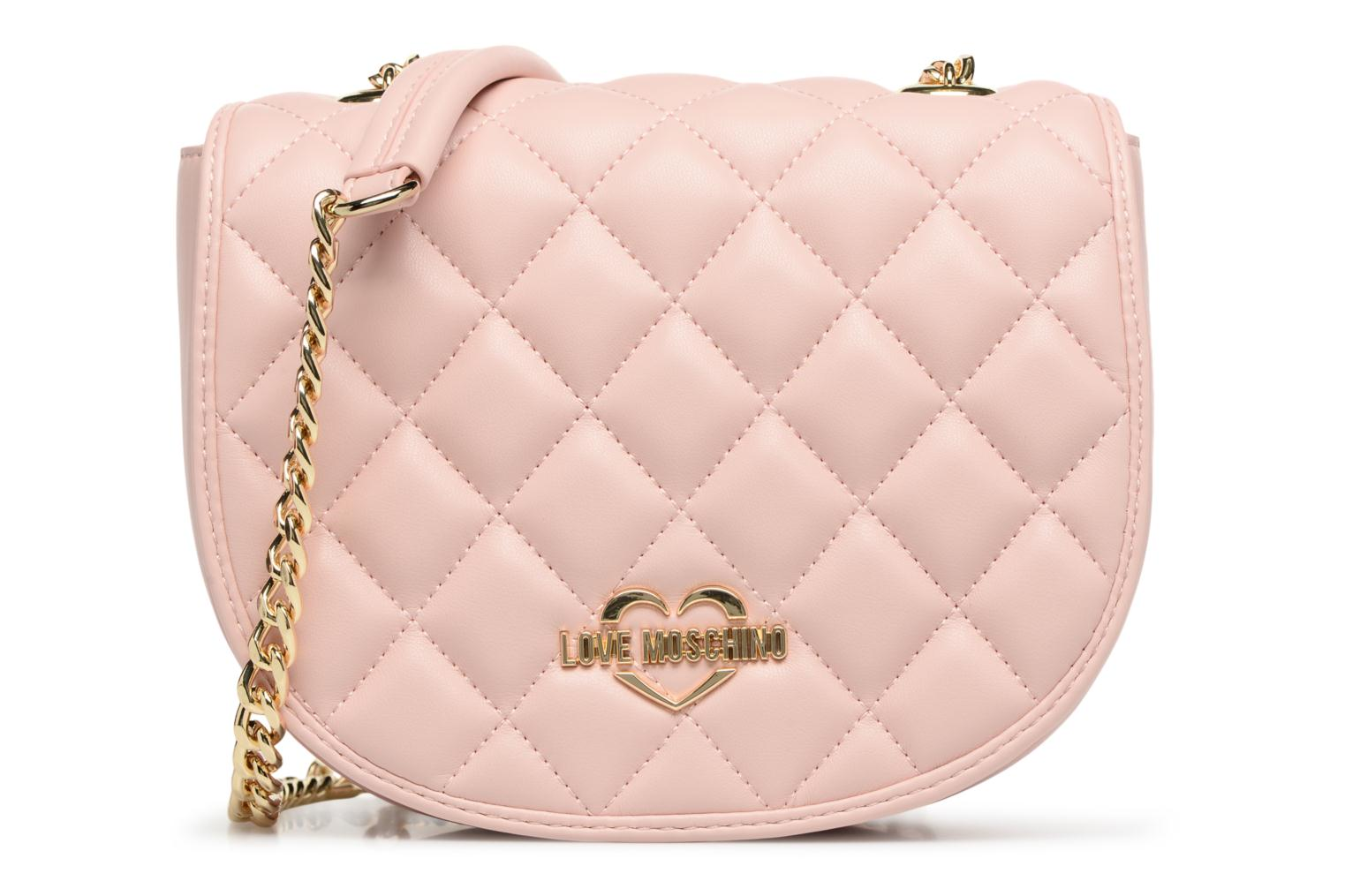 Sacs à main Love Moschino Crossbody Super Quilted Rose vue détail/paire
