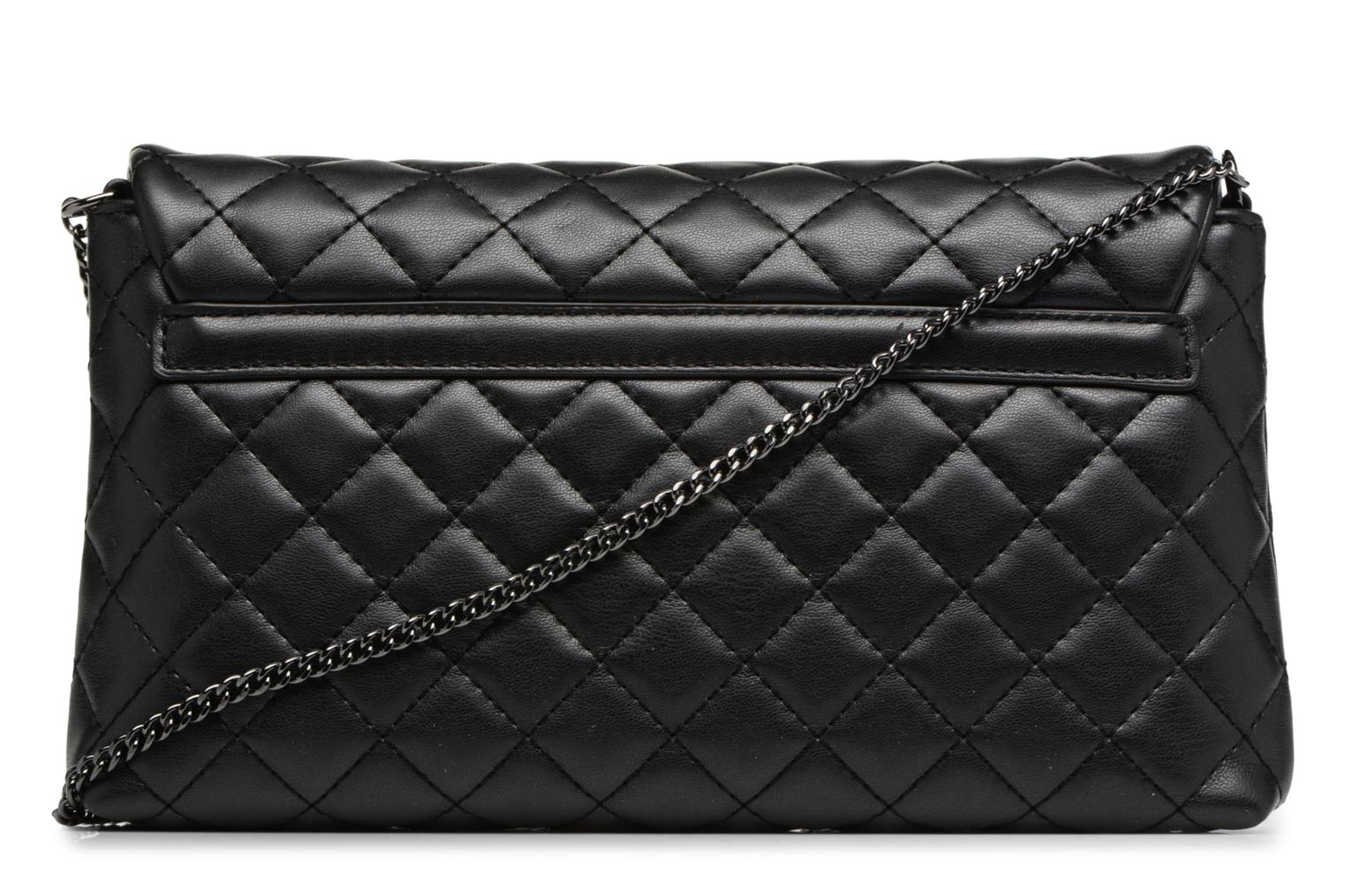Borse Love Moschino Evening Bag Chaine Quilted Nero immagine frontale