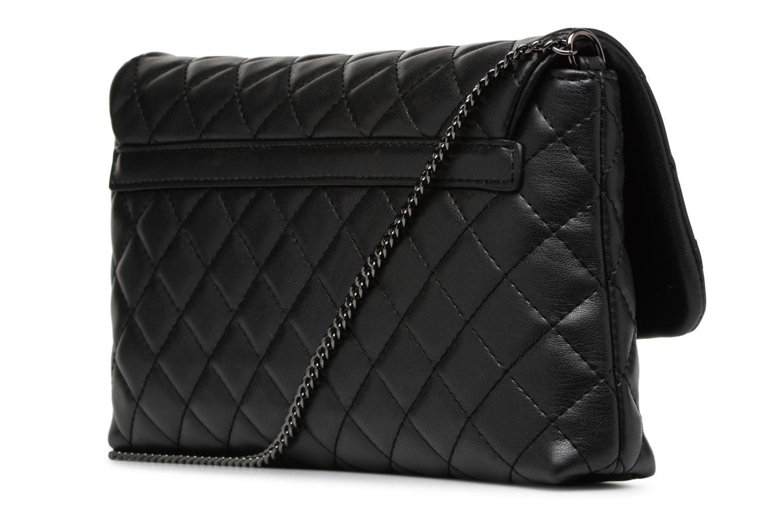 Sacs à main Love Moschino Evening Bag Chaine Quilted Noir vue droite