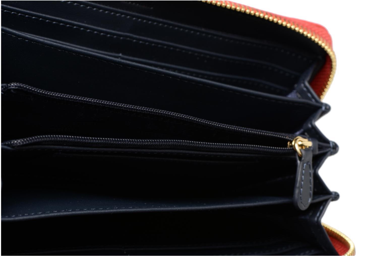 Pelletteria Love Moschino Portefeuille Super Quilted Rosso immagine posteriore