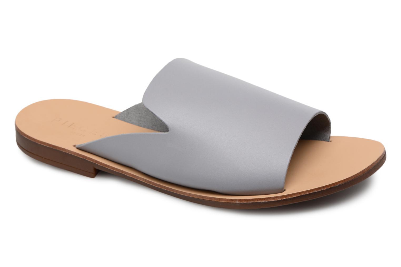 Pieces - Damen - Peninna Leather sandal - Clogs & Pantoletten - schwarz oabER