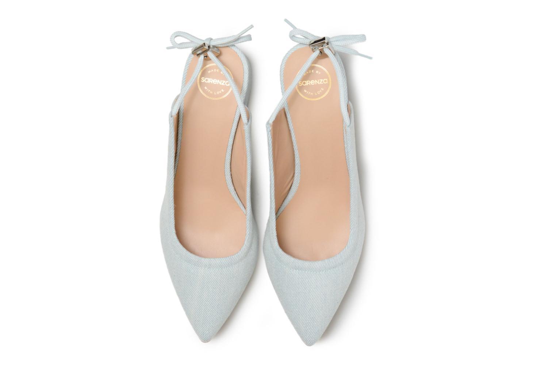 Escarpins Made by SARENZA 90's Girls Gang Escarpins #5 Bleu vue portées chaussures