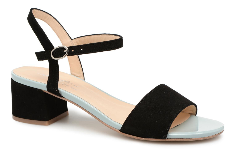 Sandales et nu-pieds Mellow Yellow Dovy Noir vue détail/paire