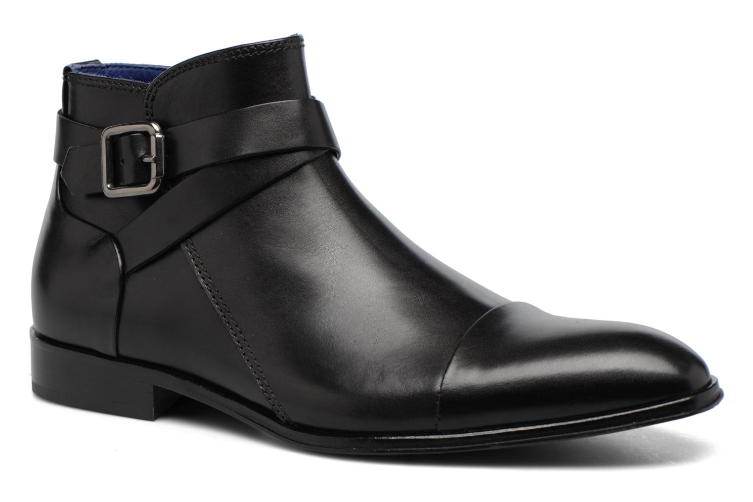Ankle boots Azzaro Hugon Black detailed view/ Pair view