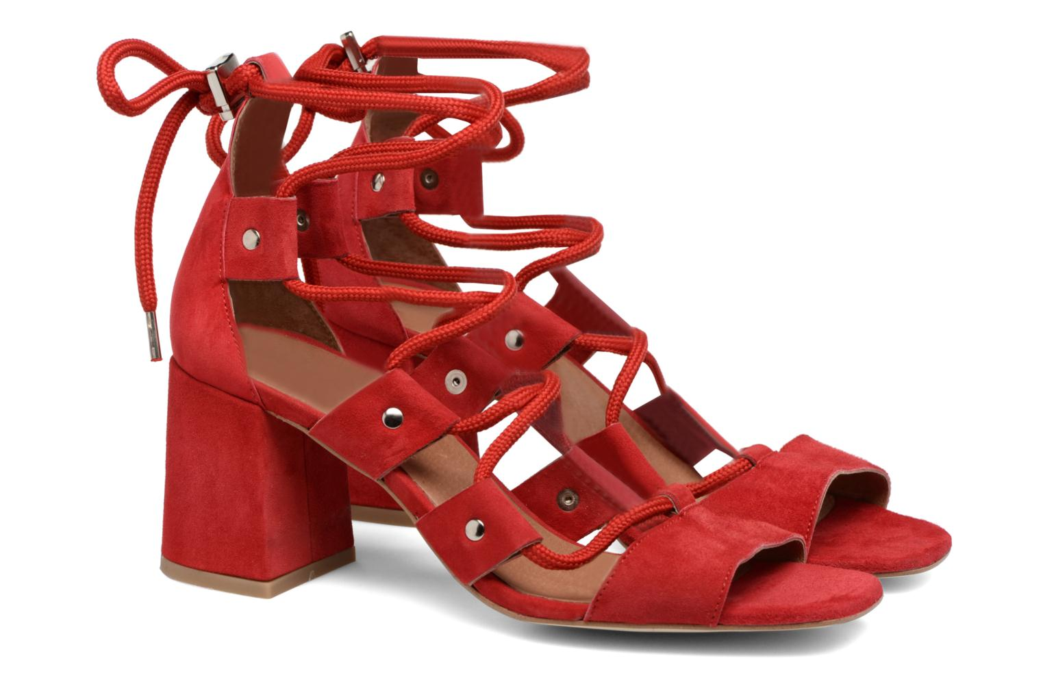 Made by SARENZA 90's Girls Gang Sandales à Talons #4 Rood Supply Goedkope Prijs dnNIH8qp