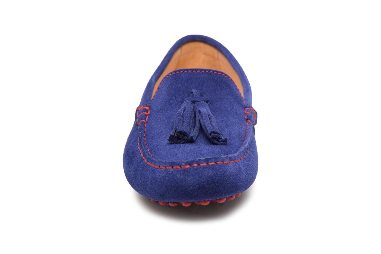 Mocassins Georgia Rose Stalimou Bleu vue portées chaussures