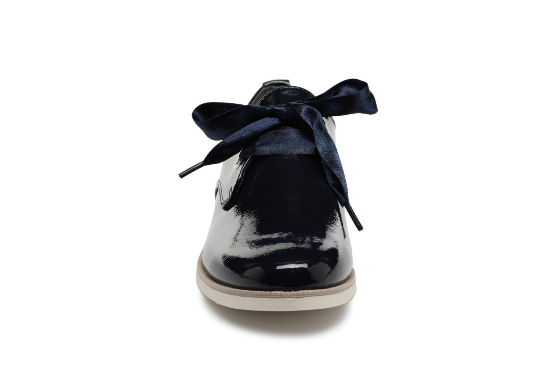 Chaussures à lacets Marco Tozzi Horio Bleu vue portées chaussures