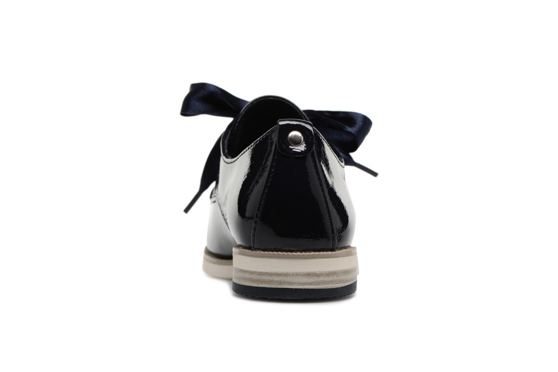 Chaussures à lacets Marco Tozzi Horio Bleu vue droite