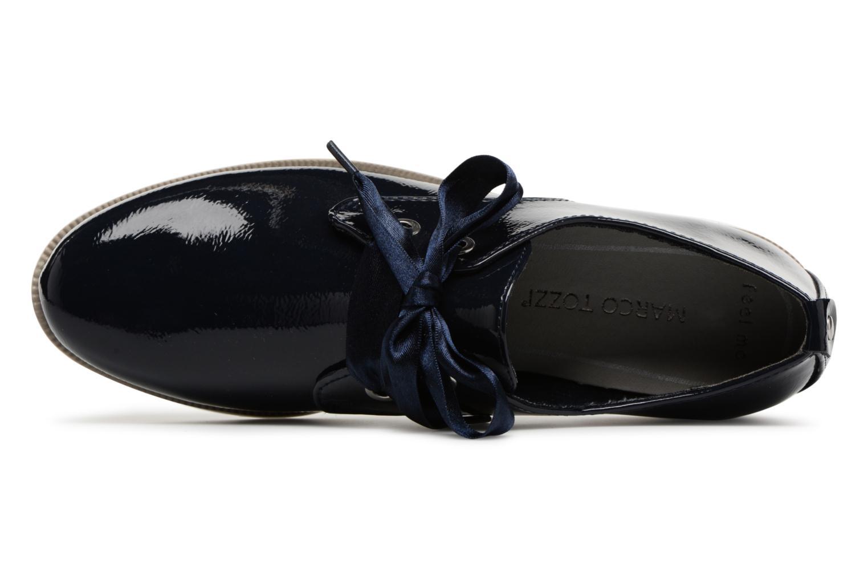 Chaussures à lacets Marco Tozzi Horio Bleu vue gauche