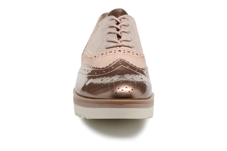 Chaussures à lacets Marco Tozzi Fomil Rose vue portées chaussures