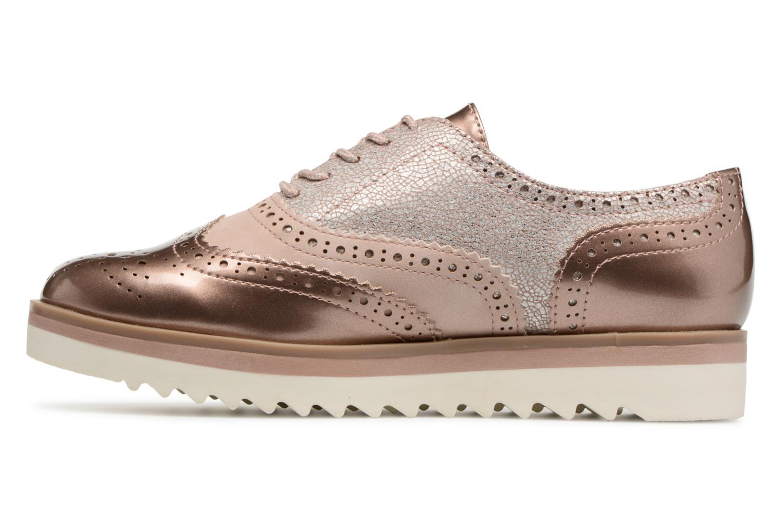 Chaussures à lacets Marco Tozzi Fomil Rose vue face