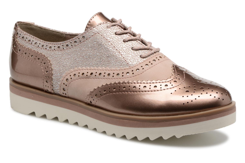 Chaussures à lacets Marco Tozzi Fomil Rose vue détail/paire