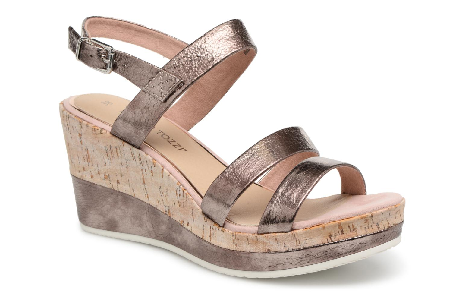 Marques Chaussure femme Marco Tozzi femme Wimos Rose Metallic