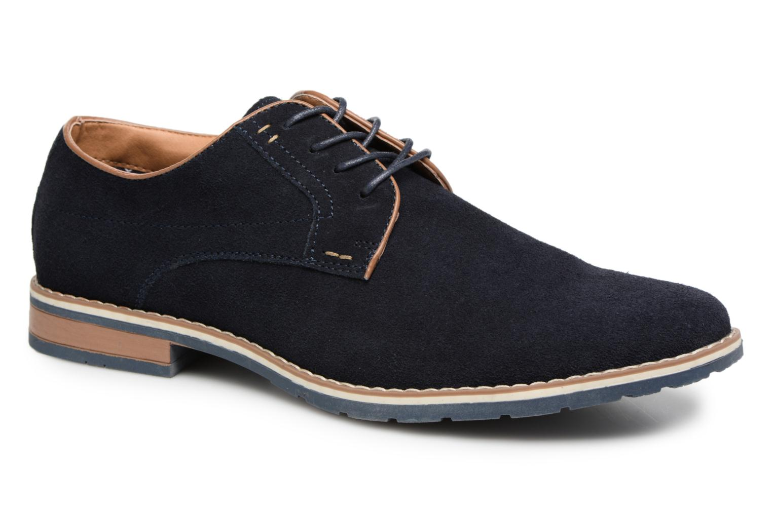 Marques Chaussure homme I Love Shoes homme KERENS Leather Navy
