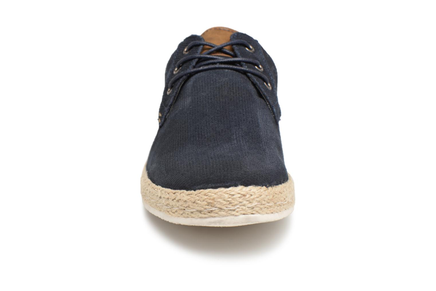 Baskets I Love Shoes KEDRILLO Leather Bleu vue portées chaussures