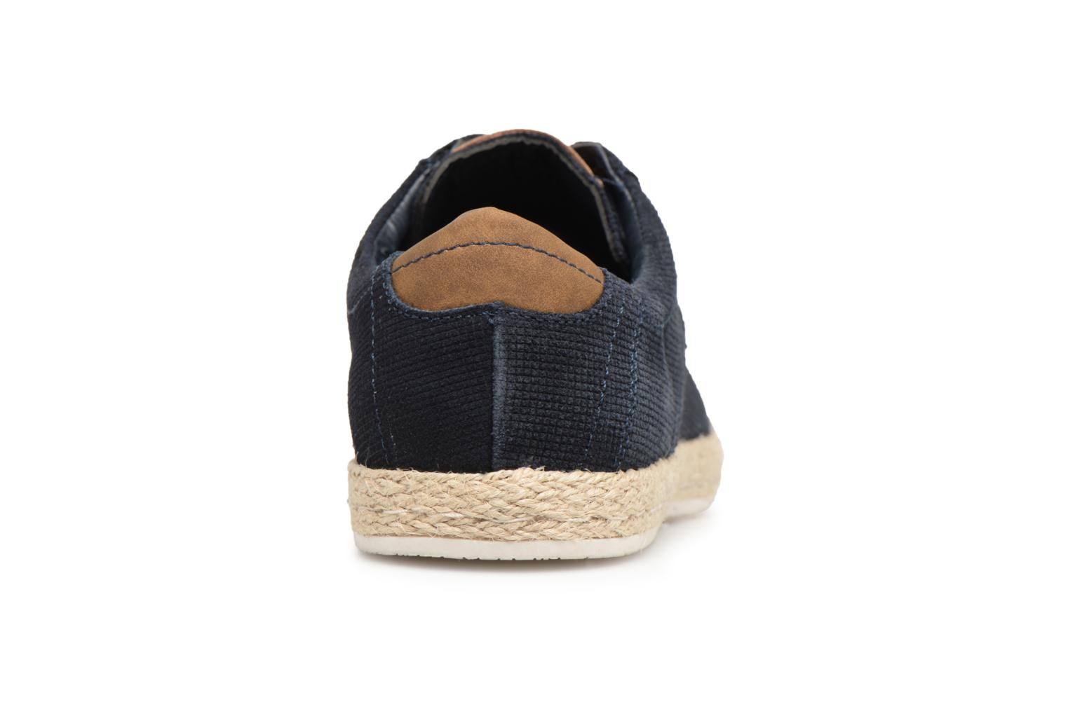 Baskets I Love Shoes KEDRILLO Leather Bleu vue droite
