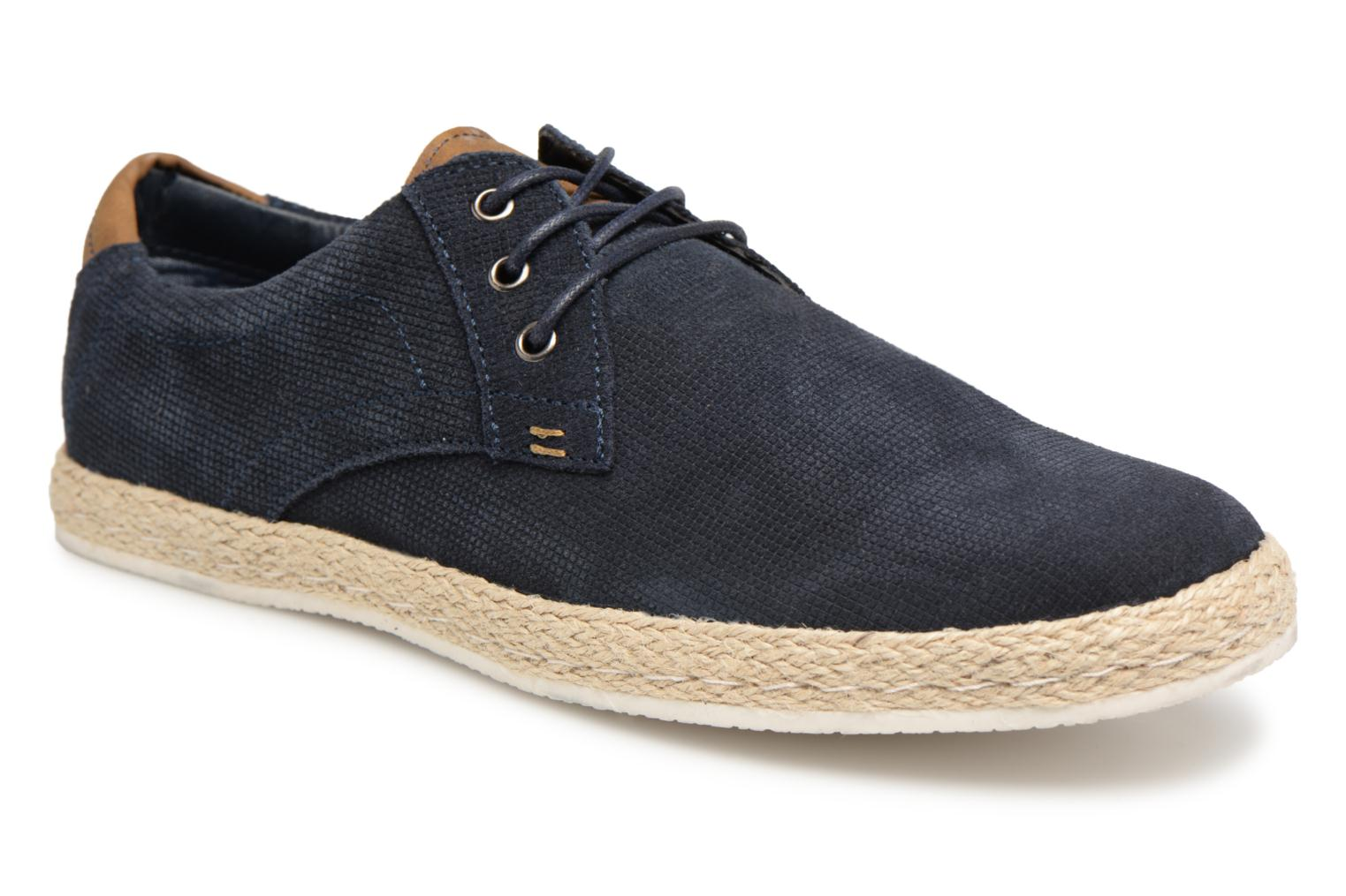 Baskets I Love Shoes KEDRILLO Leather Bleu vue détail/paire