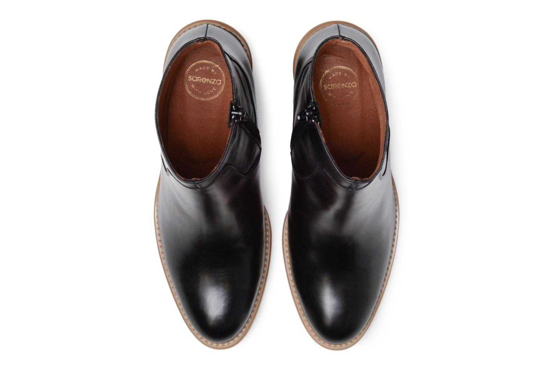 Carioca Crew Boots #1 Cuir Lisse Noir