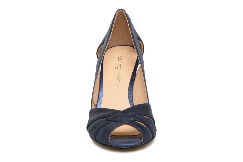 Escarpins Georgia Rose Emerva Bleu vue portées chaussures