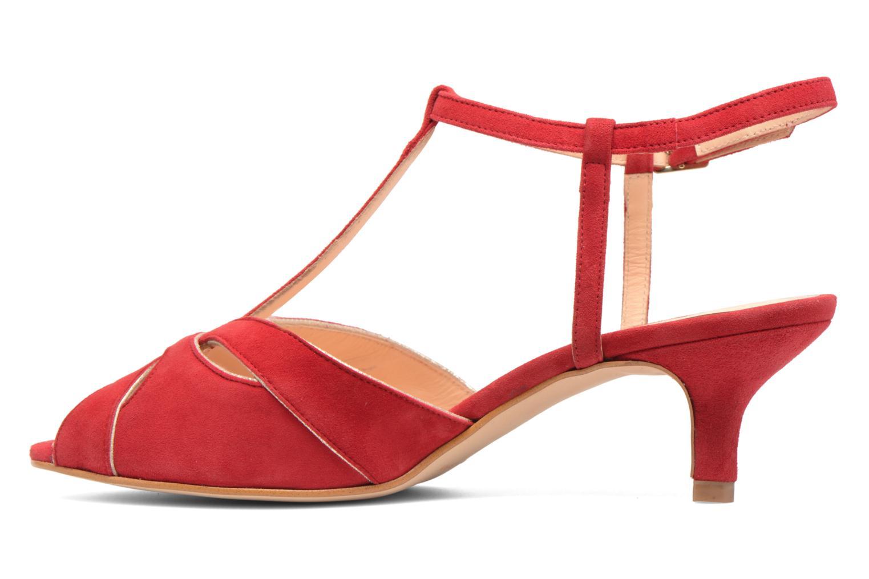 Sandales et nu-pieds Georgia Rose Etcera Rouge vue face