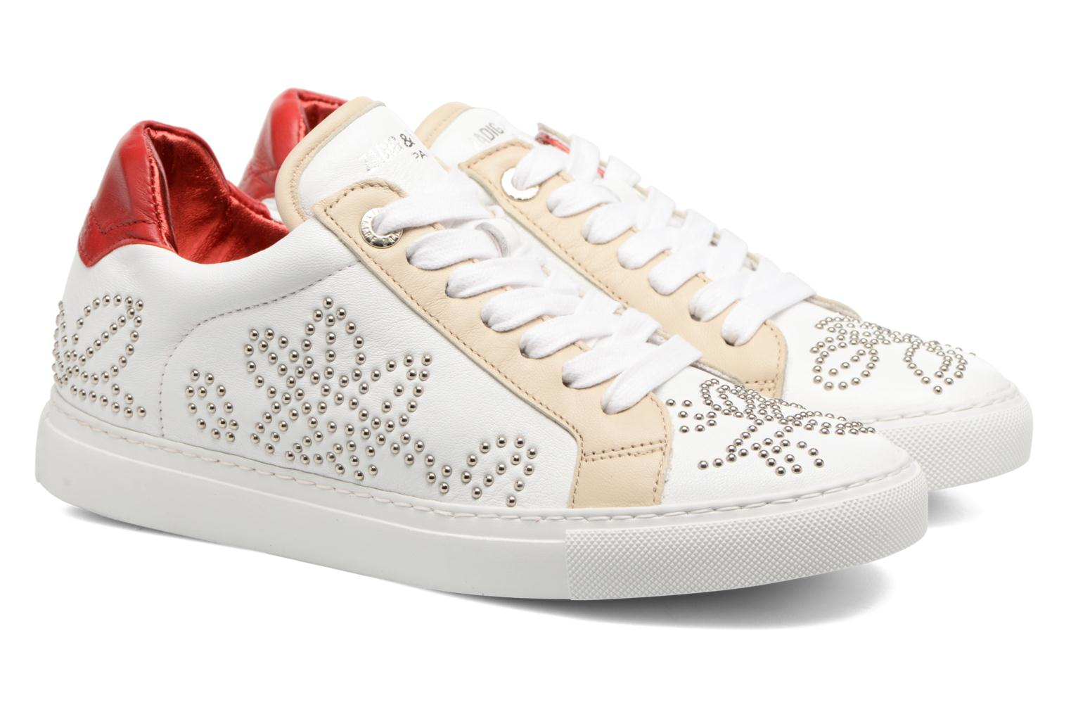 Trainers Zadig & Voltaire ROSE White 3/4 view