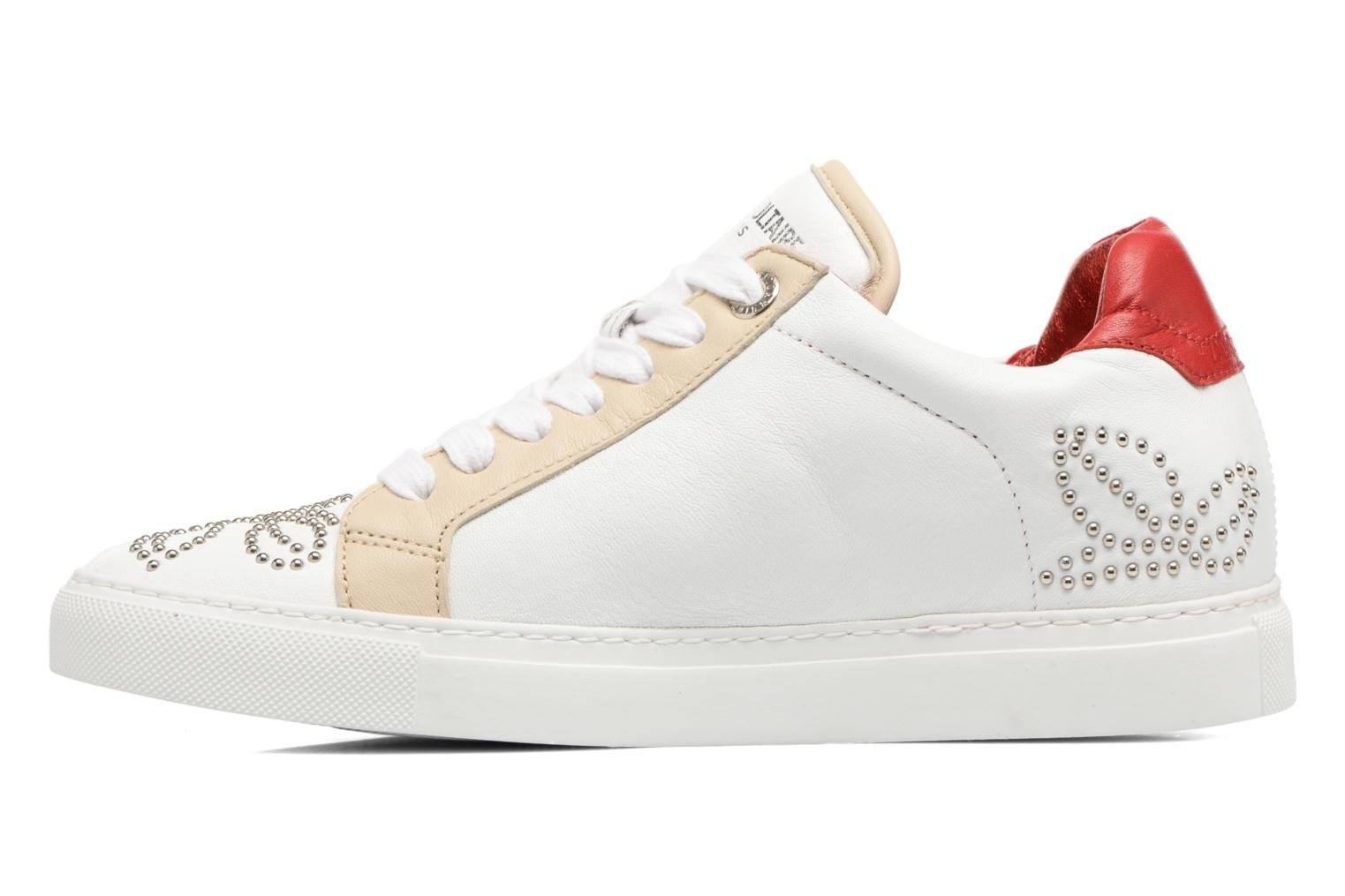 Trainers Zadig & Voltaire ROSE White front view