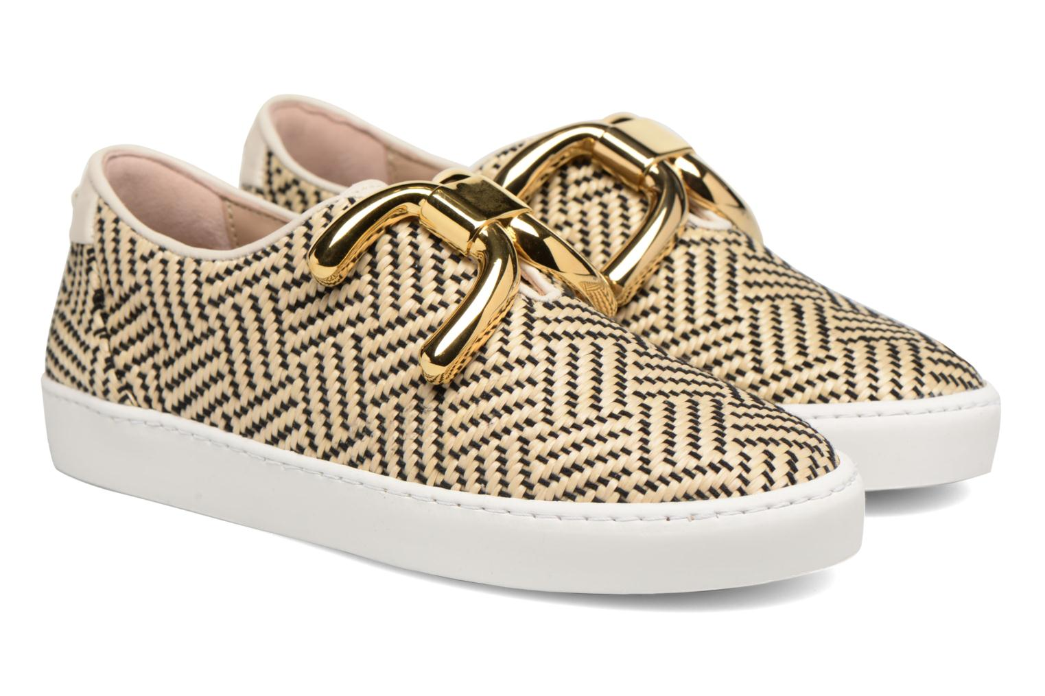Trainers An Hour And A Shower Livia Beige 3/4 view