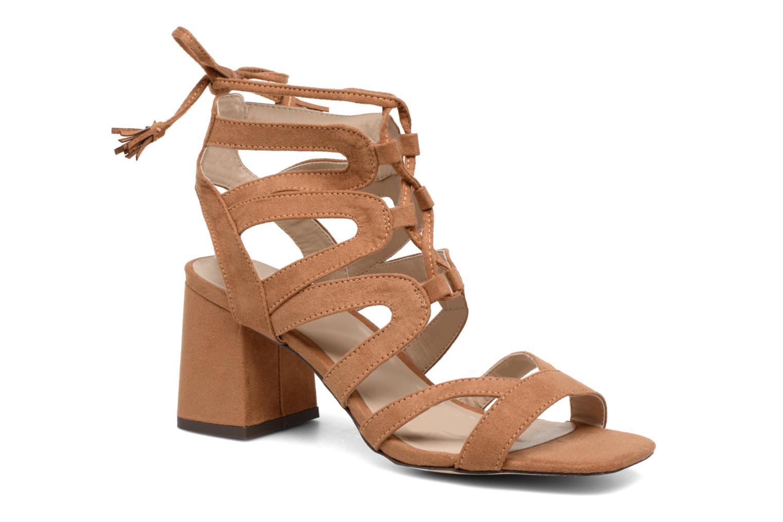 Sandales et nu-pieds I Love Shoes FELICINA Marron vue détail/paire