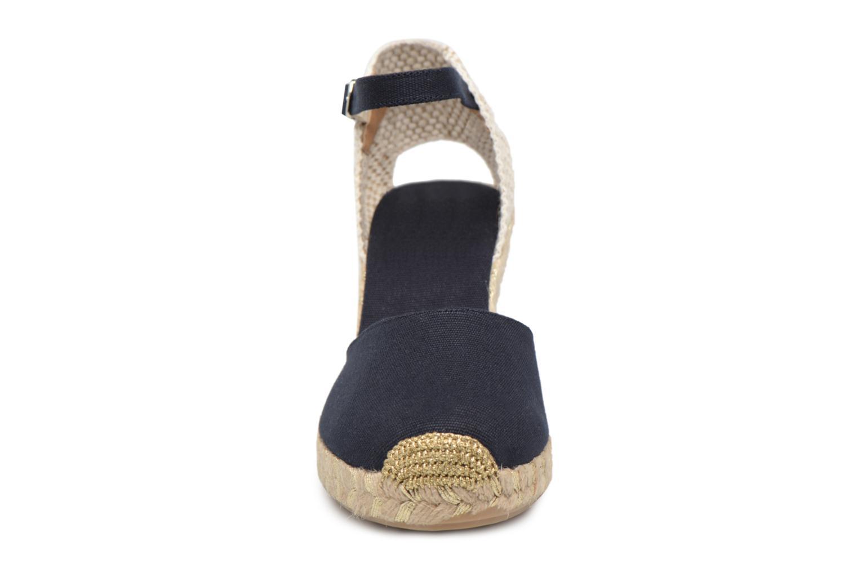 Espadrilles Georgia Rose Inagold Bleu vue portées chaussures