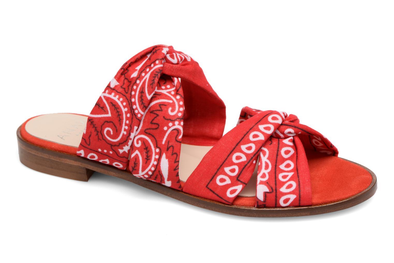 Venta de liquidación de temporada Anaki SMU VEGAS (Rojo) - Zuecos en Más cómodo