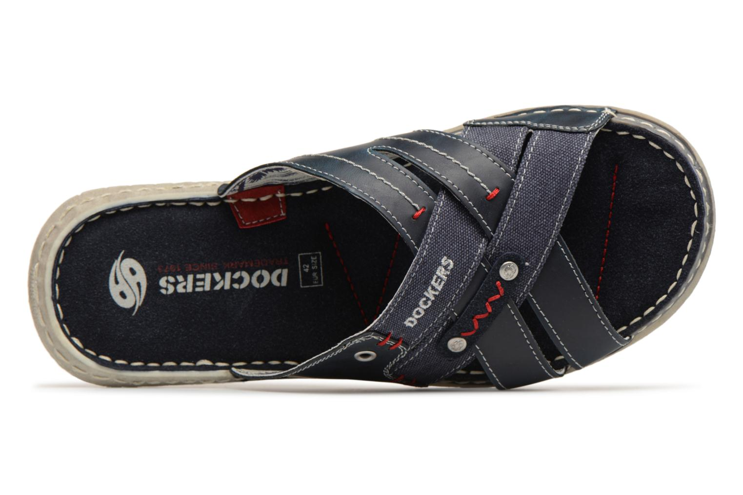 Sandals Dockers Ribin Blue view from the left
