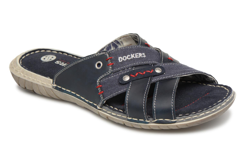 Dockers Ribin (Bleu) - Sandales et nu-pieds chez Sarenza (314592)