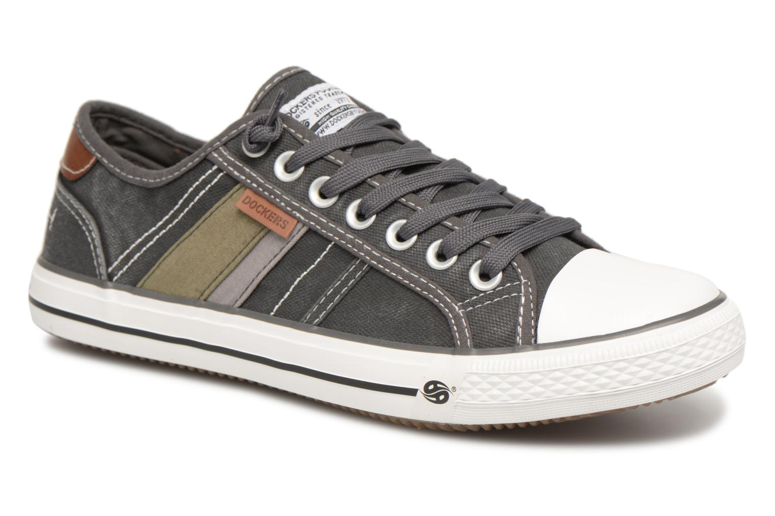 Trainers Dockers Rimain Grey detailed view/ Pair view