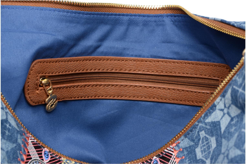 Handtassen Desigual Mystic Somalia Blauw achterkant