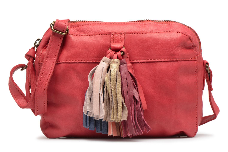 Sacs à main Pieces Izza Leather Crossbody Rouge vue détail/paire