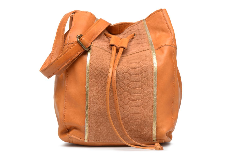 Sacs à main Pieces Imi Leather Tighten Bag Marron vue détail/paire