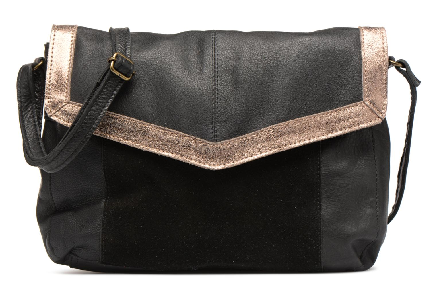 Sacs à main Pieces Isaura Leather Crossbody L Noir vue détail/paire