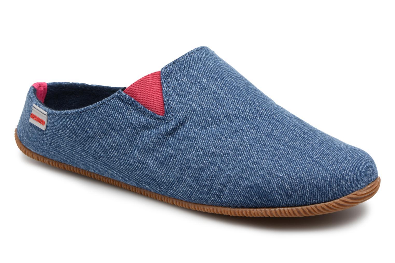Pantoffel Pama Giesswein blau C3PXs