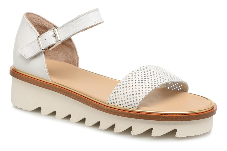 Grandes descuentos últimos zapatos MAURICE manufacture Lilian version 2 (Blanco) - Sandalias Descuento
