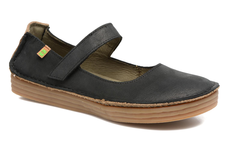 Zapatos promocionales El Naturalista Ricefied N5041 (Negro) - Bailarinas   Cómodo y bien parecido