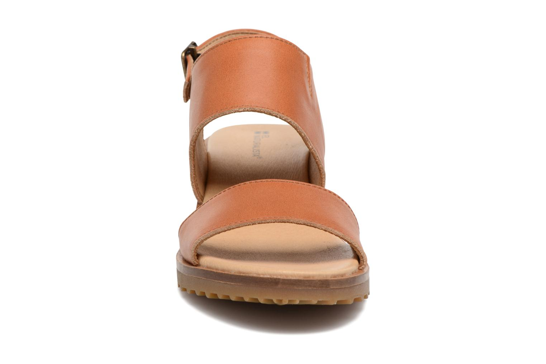 Sandales et nu-pieds El Naturalista Sabal N5010 Marron vue portées chaussures