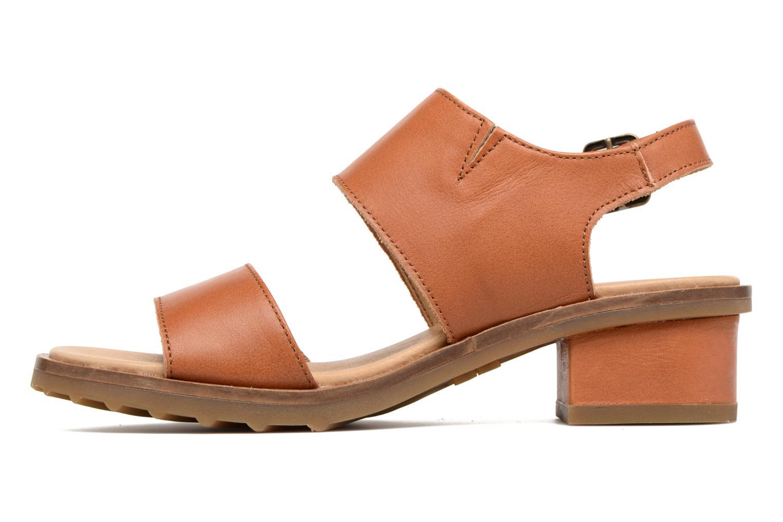 Sandales et nu-pieds El Naturalista Sabal N5010 Marron vue face
