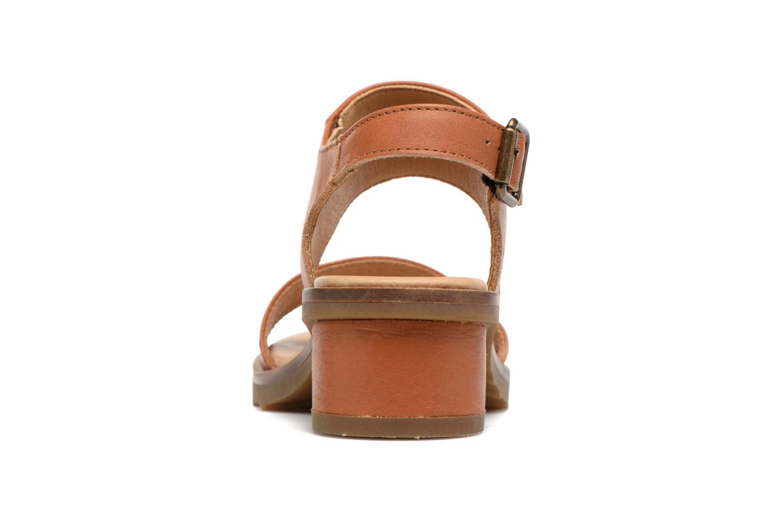 Sandales et nu-pieds El Naturalista Sabal N5010 Marron vue droite