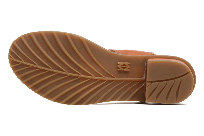 Sandales et nu-pieds El Naturalista Sabal N5010 Marron vue haut